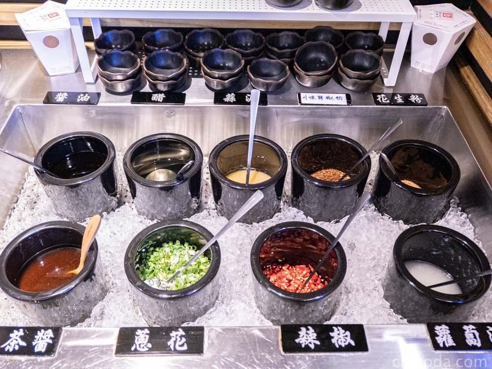 八吋鍋北區榮華店 醬料區ㄌ