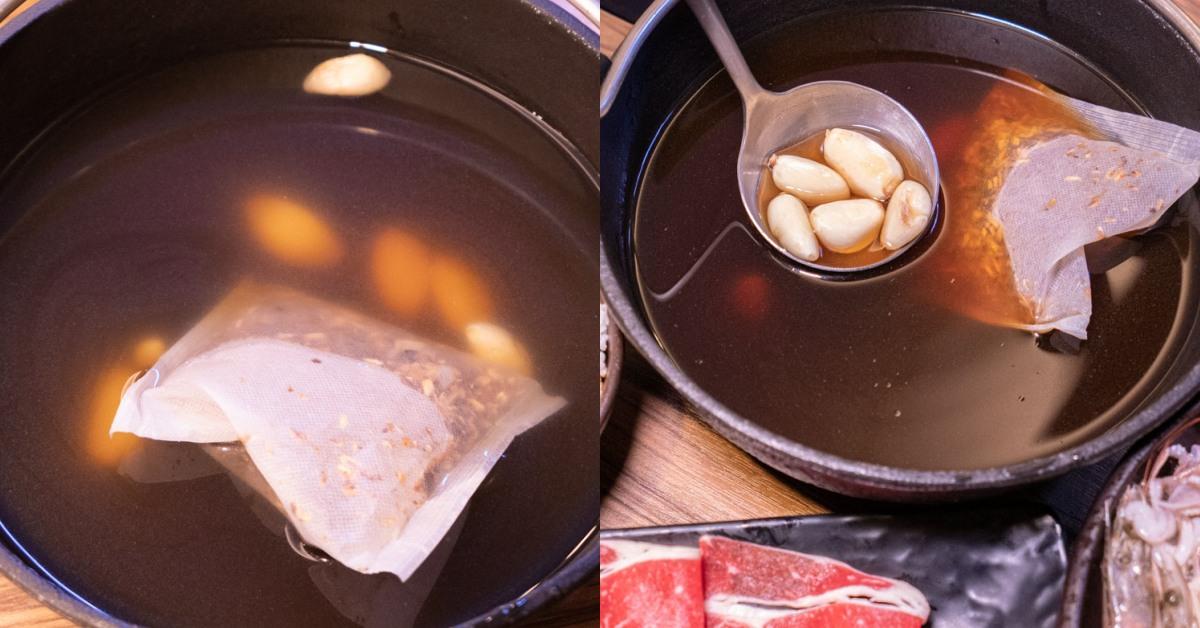 八吋鍋 元氣黑蒜頭湯底