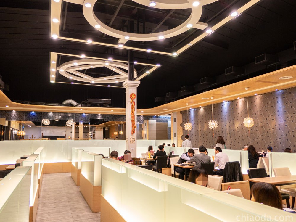 茶自點台中旗艦店 室內環境 北屯餐廳推薦 大坑美食