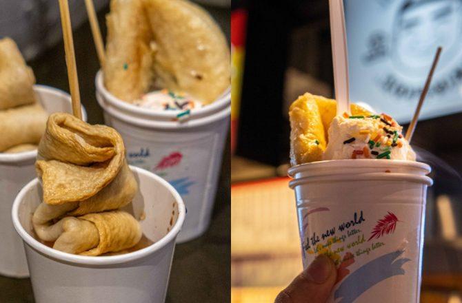 KIM DADDY韓國糖餅魚板串專賣|台中首間韓式糖餅和超夯魚餅串 就在一中愛廣場