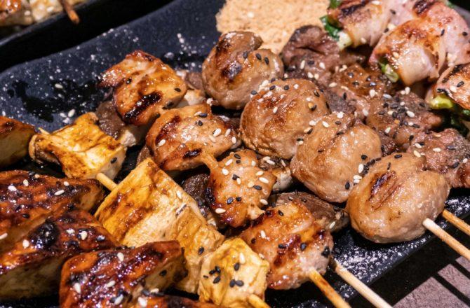 夯醬串|黎明路朝馬周邊宵夜推薦 串燒、泰國蝦、現炒都有!旁邊還有麻辣串跟粥品可選擇~