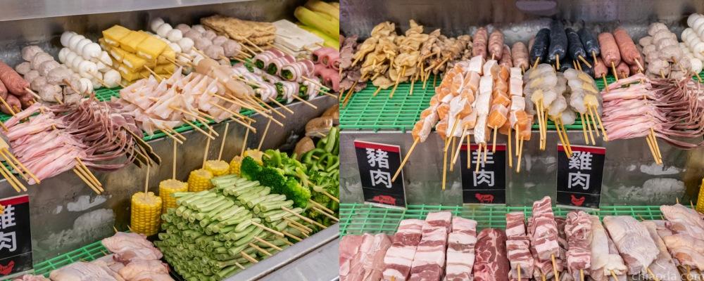 夯醬串 串燒自選