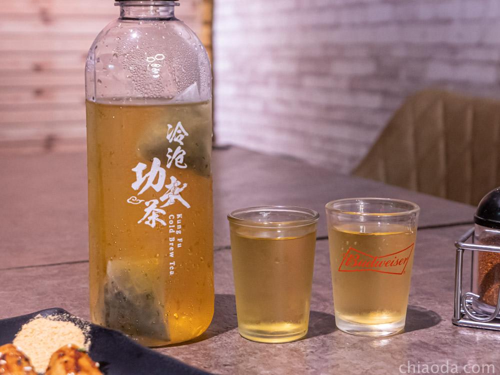 夯醬串 冷泡茶