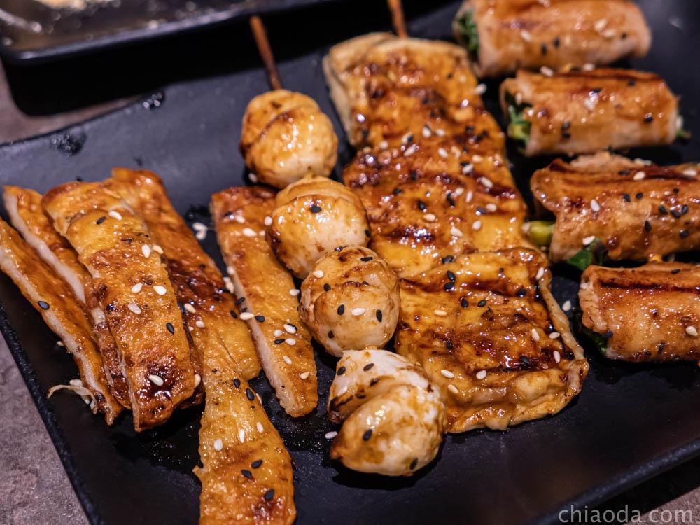 夯醬串-多款串燒選擇