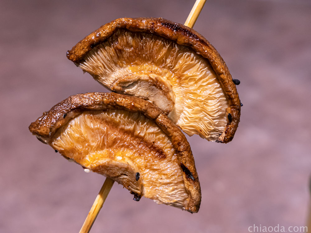夯醬串 香菇