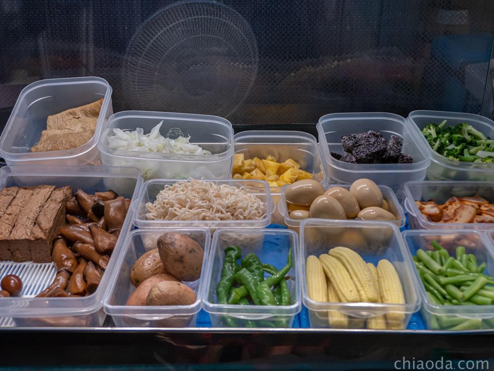 木子李鹹水雞 多款蔬菜滷味