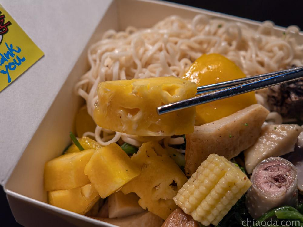木子李鹹水雞 贈送水果