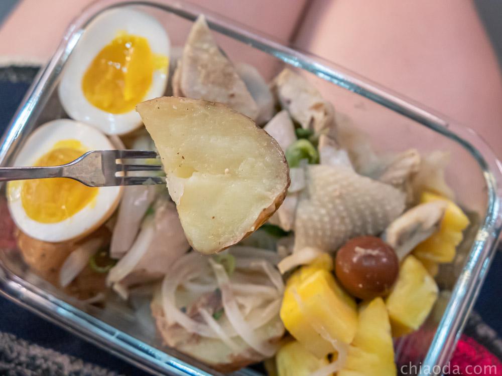 木子李鹹水雞 帶皮馬鈴薯