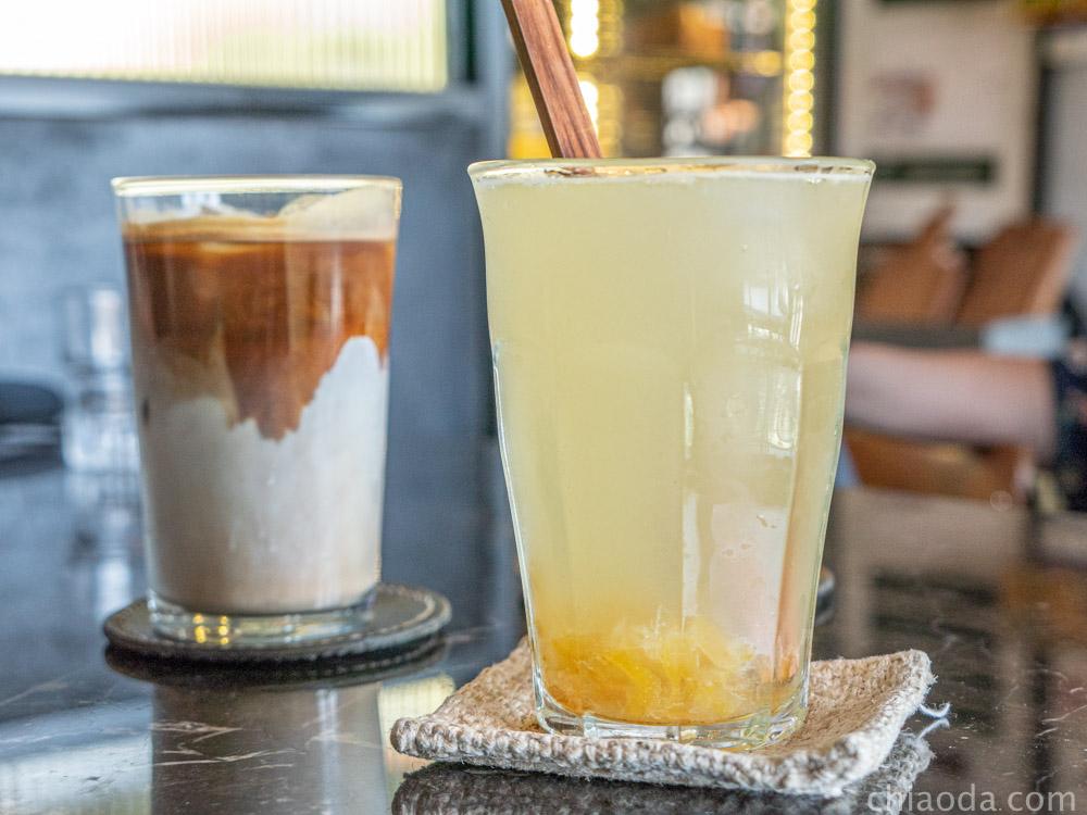 圖們咖啡 蜂蜜柚香桔茶