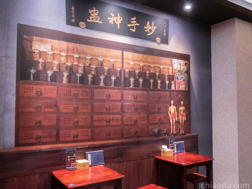 唐太盅 復古藥房裝潢