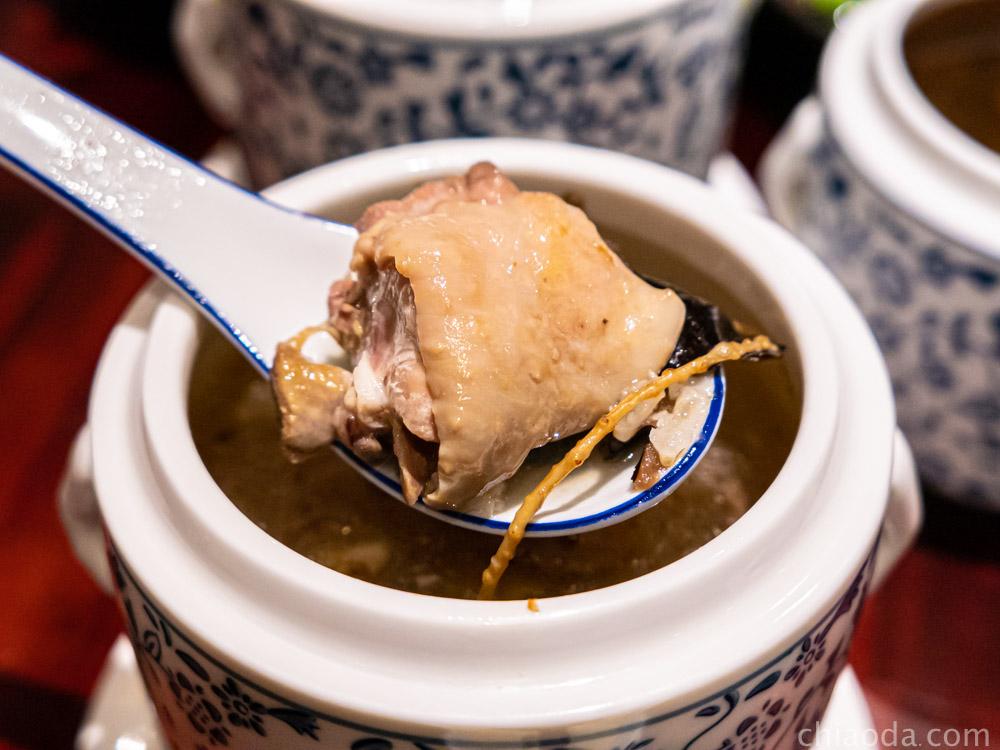 唐太盅 人蔘糯米雞盅