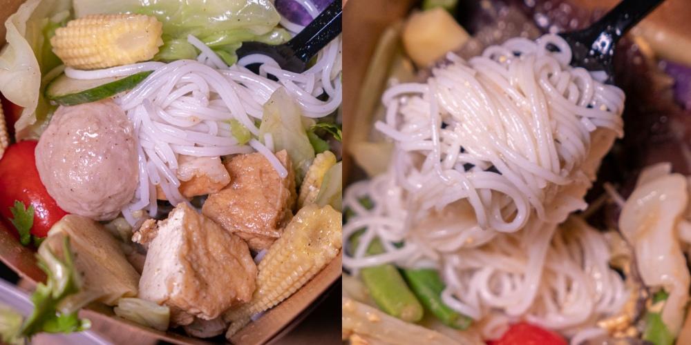 咕蔬搖新概念舒肥鹹水雞 套餐 越式米線