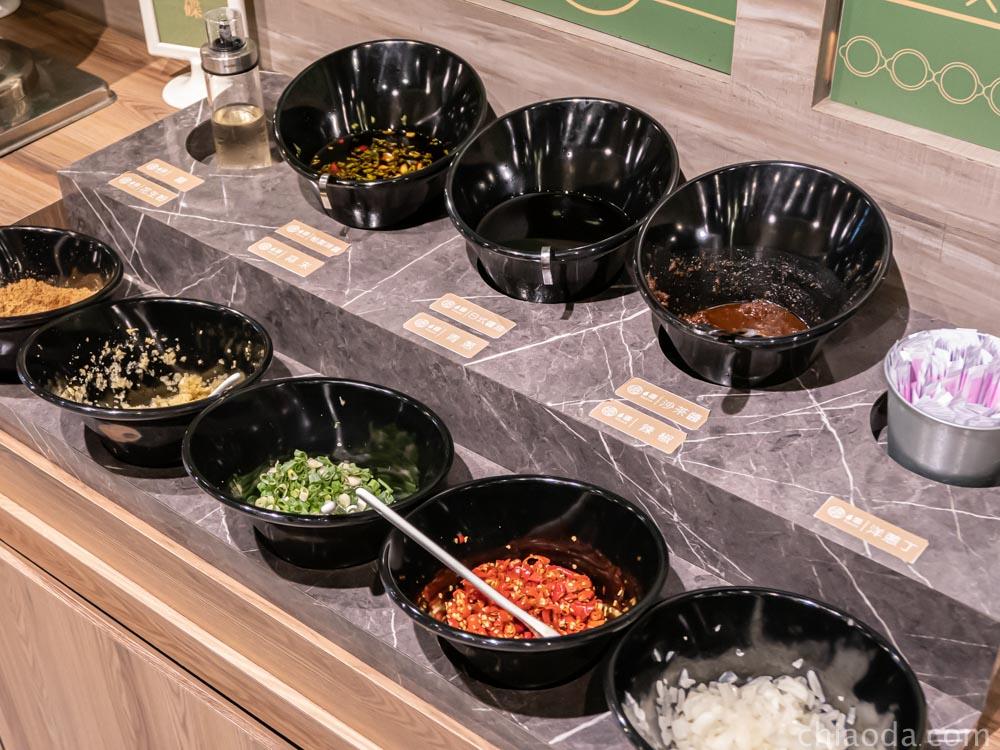 論石間鍋物台中中科店 醬料自助區 台中西屯餐廳