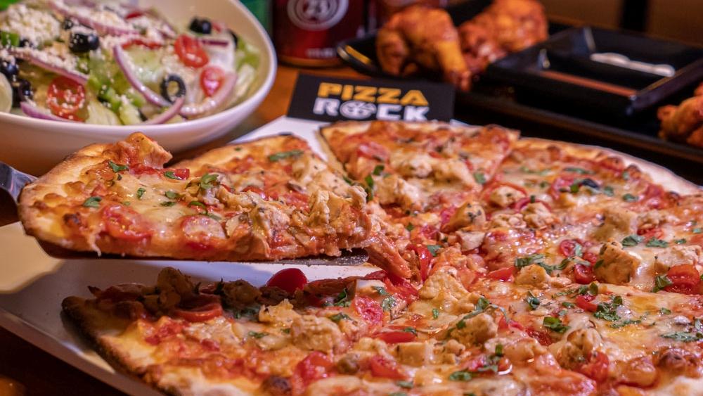 pizza rock 大里店新開幕