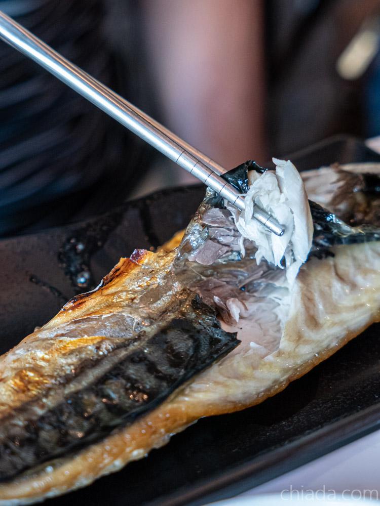 旺角工業風食堂 烤挪威鯖魚