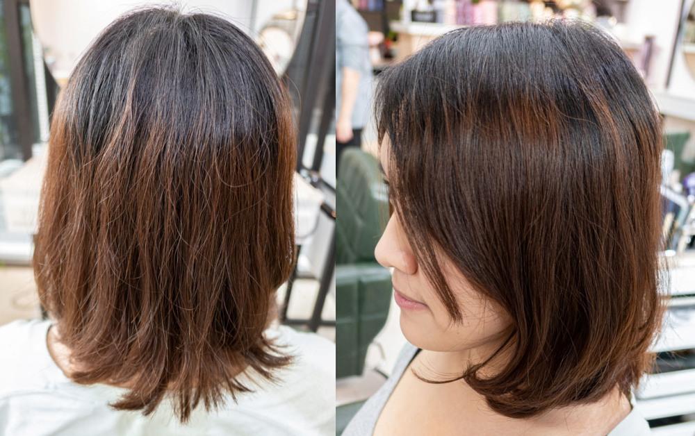 V PLUS HAIR染髮前