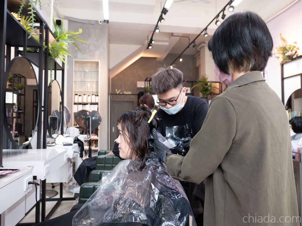 V PLUS HAIR台中染髮推薦