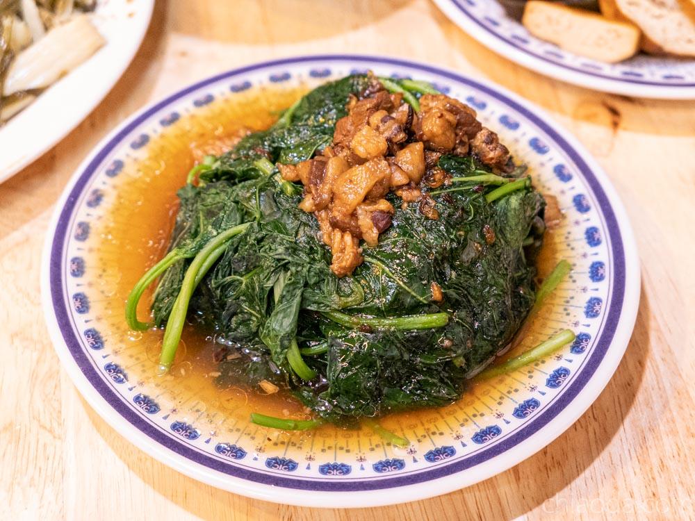 客家風味麵食館 燙青菜