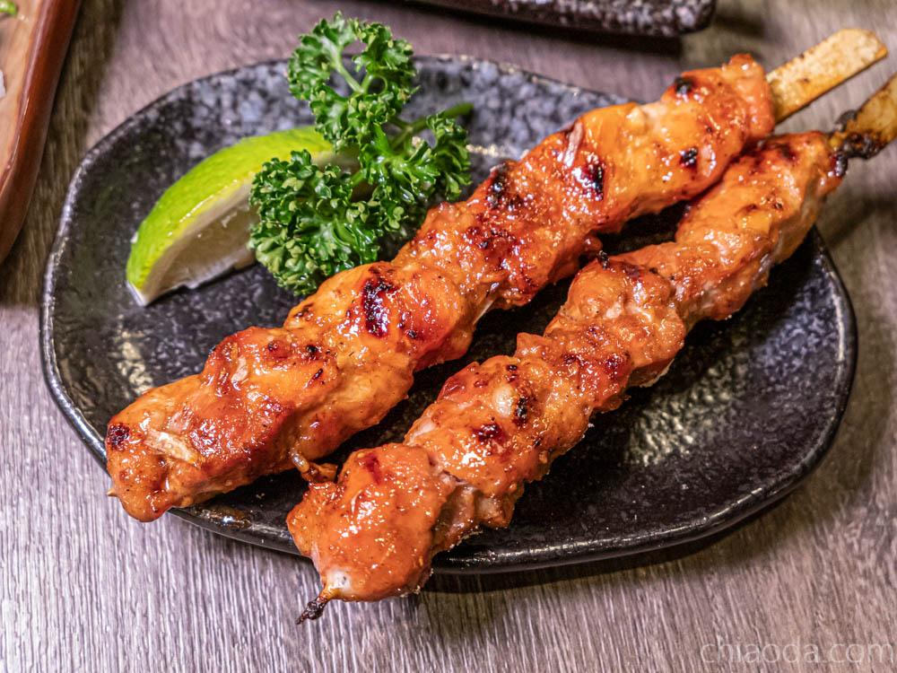 食久津居酒屋 醬燒雞肉串 台中中科商圈串燒