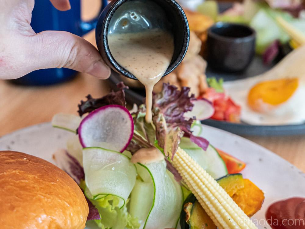 青瑪 沙拉 台中早午餐
