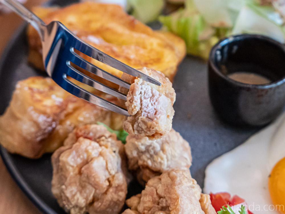 青瑪 早安法國 炸雞
