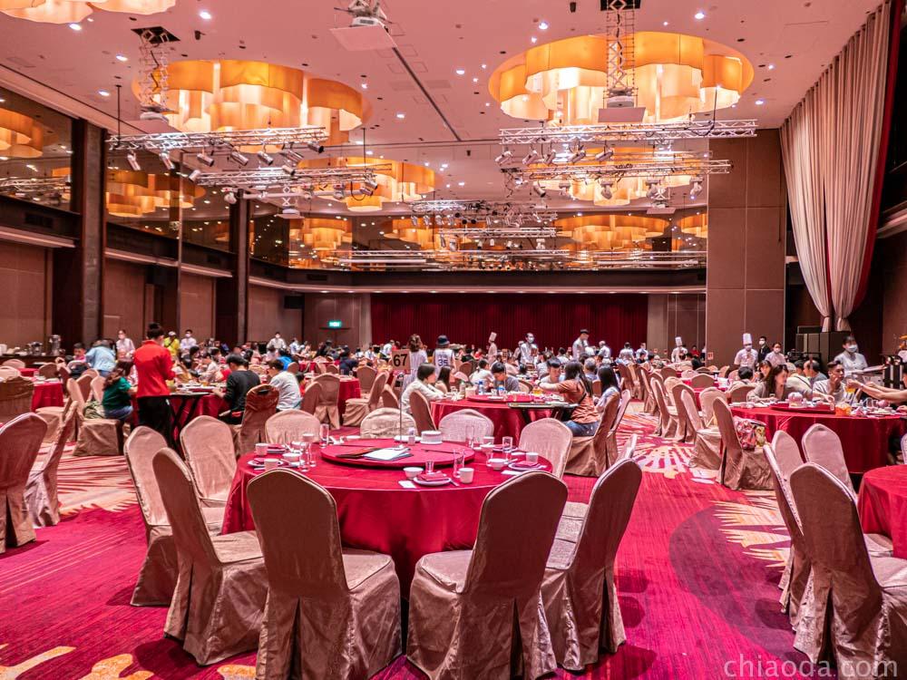 蘭城晶英 紅樓中餐廳 用餐環境