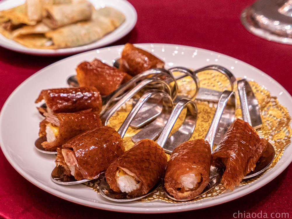 蘭城晶英烤鴨五吃