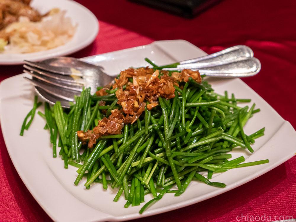 蘭城晶英烤鴨五吃 鴨油水蓮