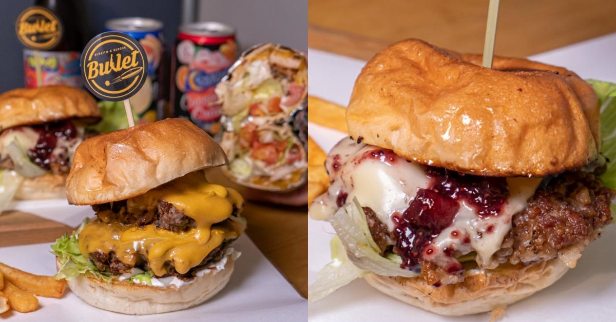 Bullet|台中西區向上市場手做美式漢堡推薦 從餐車到店面的美式搖滾風格 用心、道地又美味!