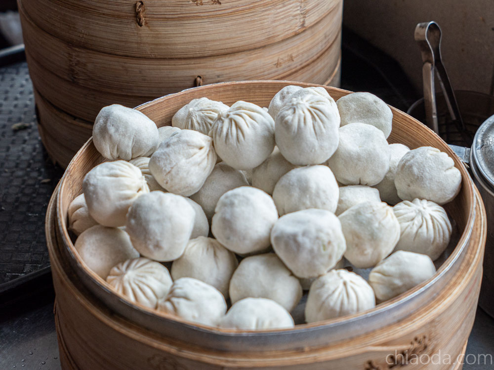 滷菩提 手包湯包 手包蒸餃 台中素食版鼎泰豐