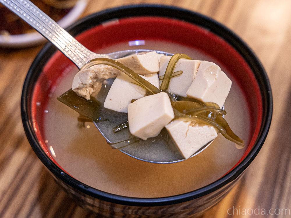 滷菩提 主食附味噌湯