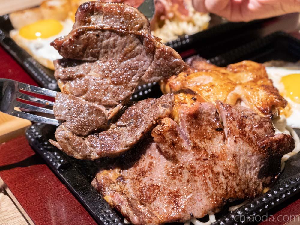 鐵鹿大街成功牛排 嫩煎沙朗牛排