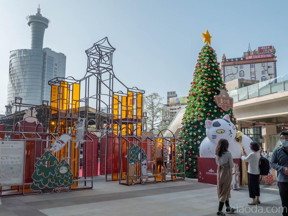 台中火車站 貓小姐特展 台中聖誕節景點推薦