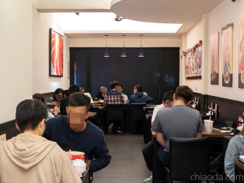 MR.38 一中咖哩飯 一中店內用環境