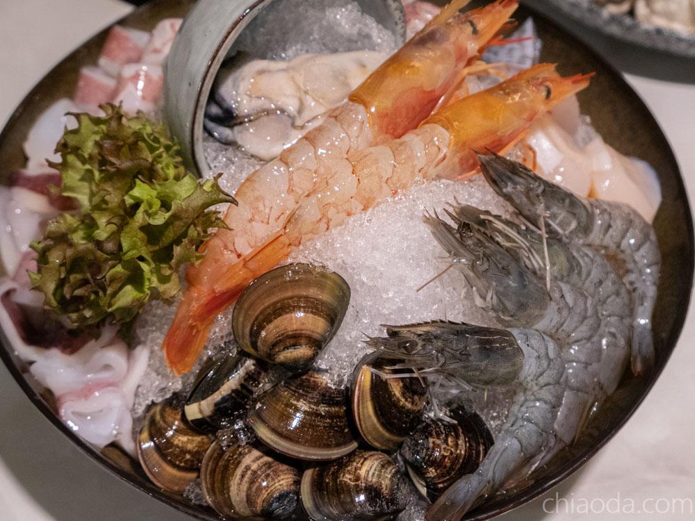 暖然 豪華海鮮盤