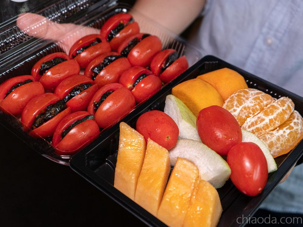 亮芭樂 水果拼盤 番茄蜜餞