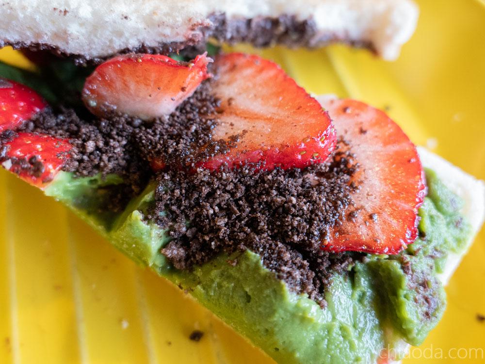 卯食 莓好三文治 草莓三明治