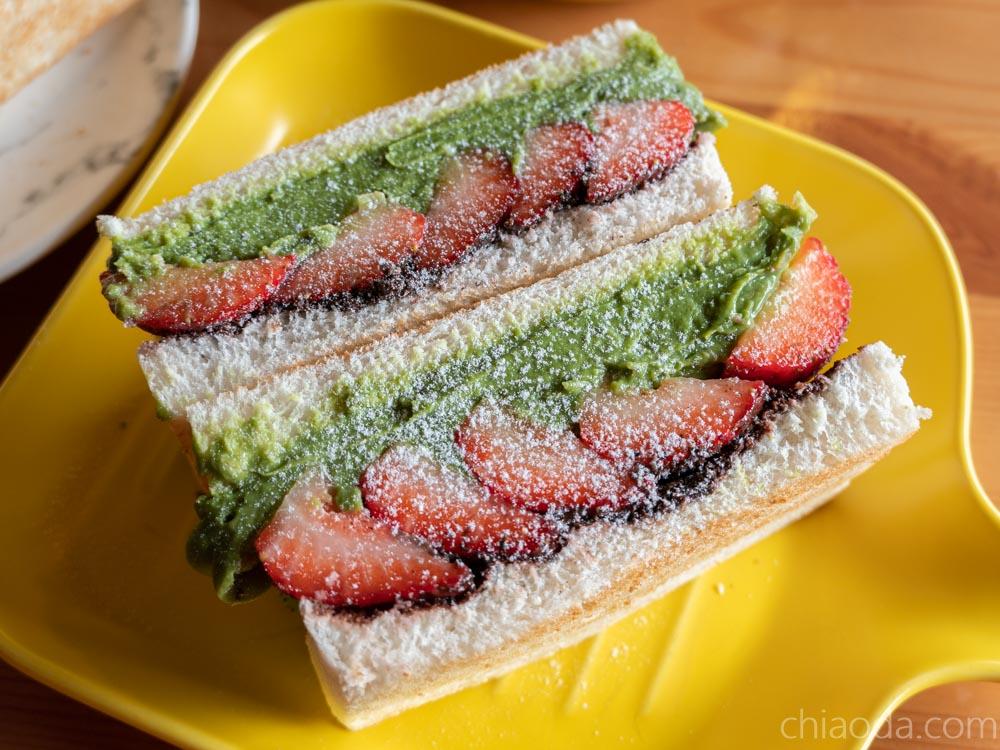 卯食 莓好三文治