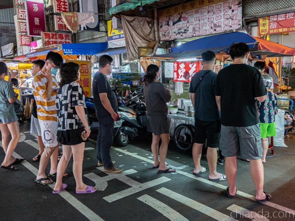 水湳豆花|大鵬路老攤豆花 19:30一營業立馬排10個人 太厲害了!