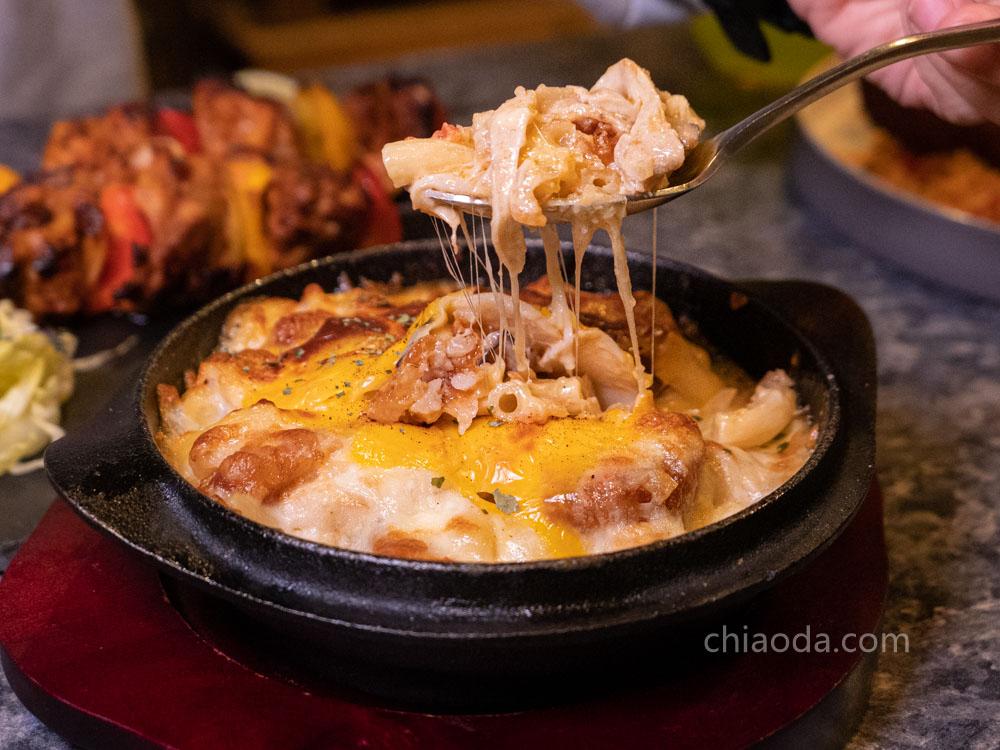 沐皇 卡滋薯餅佐火烤起司奶醬通心粉 勤美義式餐廳推薦