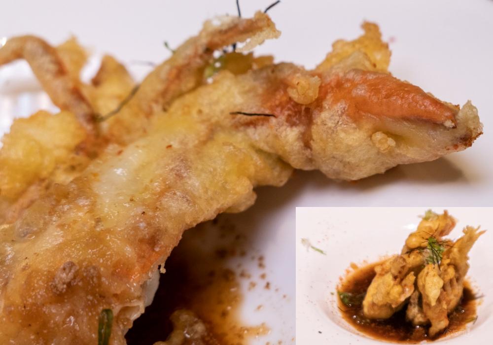 一貫手作壽司 酥炸軟殼蟹