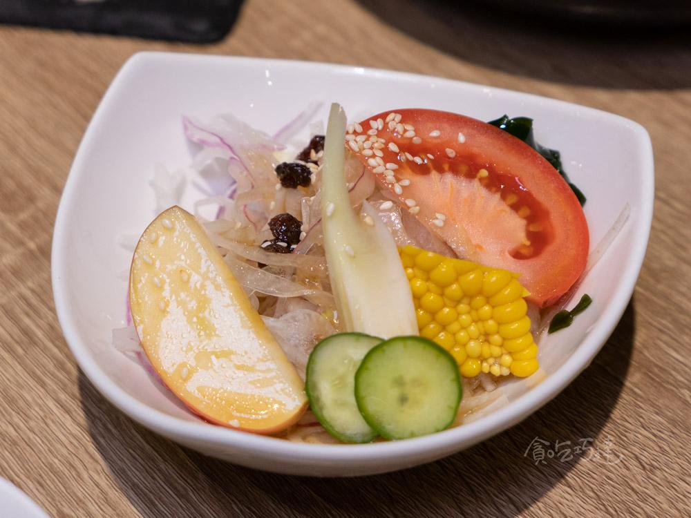 一貫手作壽司 套餐沙拉