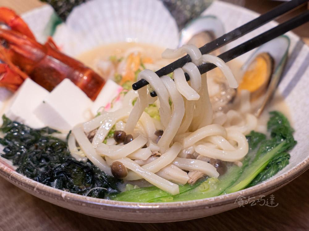 一貫手作壽司 滿盛讚岐烏龍麵 中科日式料理