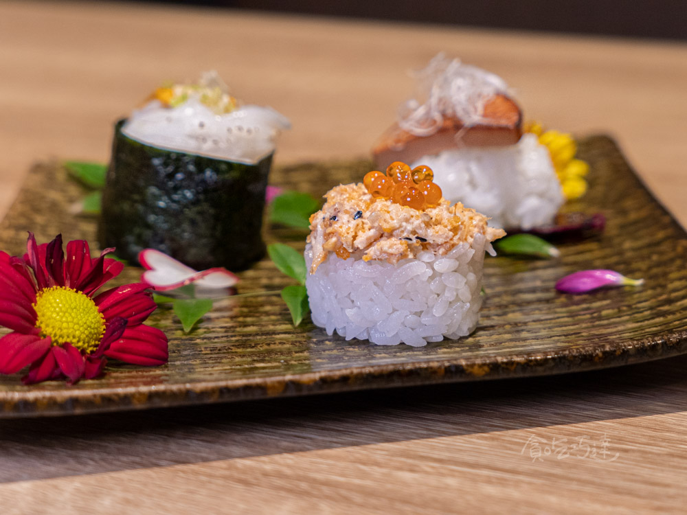 一貫手作壽司 台中握壽司推薦 台中中科商圈美食