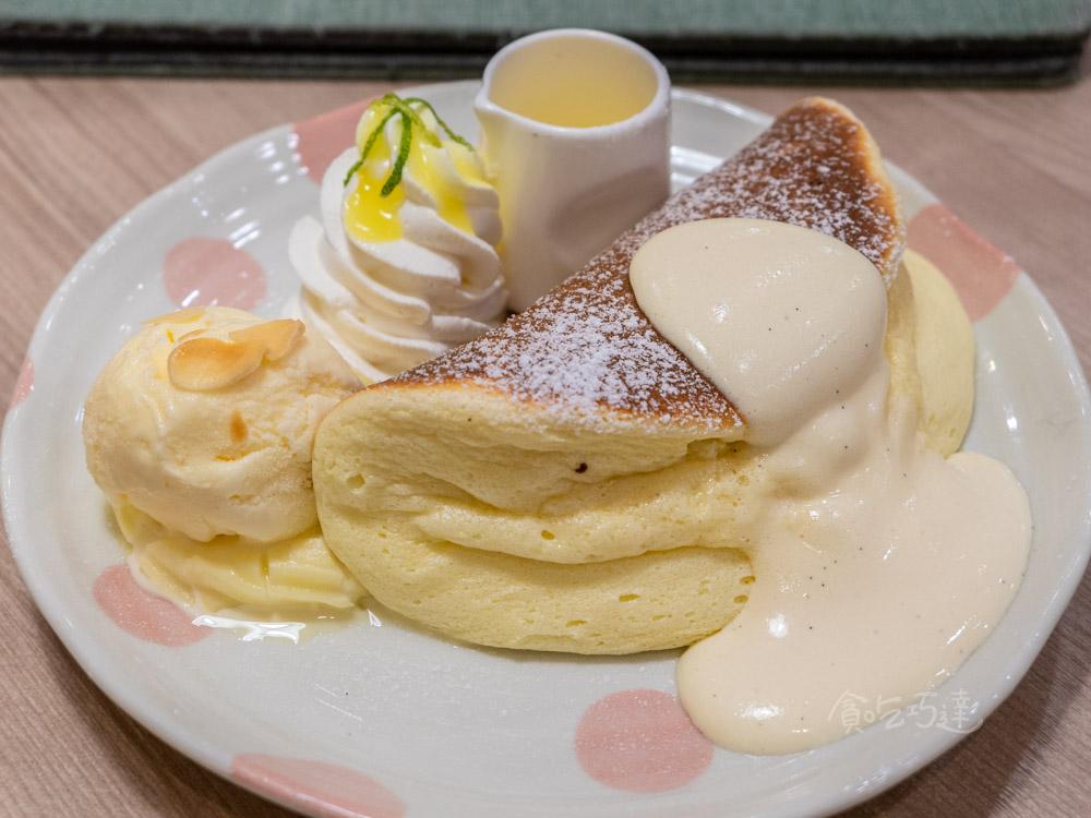 WOOSA 檸檬冰淇淋鬆餅 台中舒芙蕾推薦 台中厚鬆餅推薦