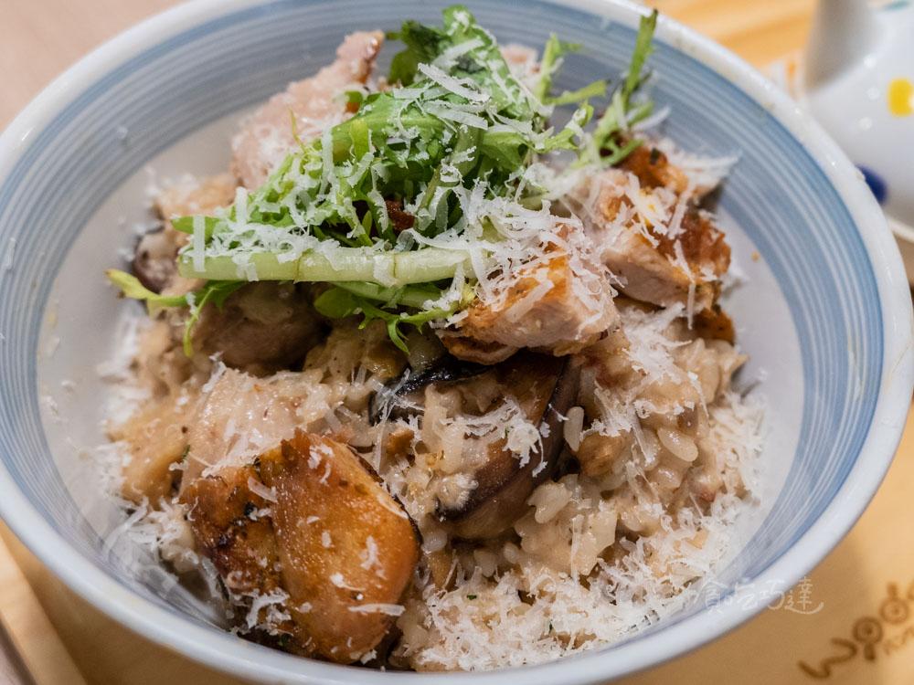 woosa屋莎鬆餅 香煎嫩雞栗子湯丼飯 大遠百餐廳推薦