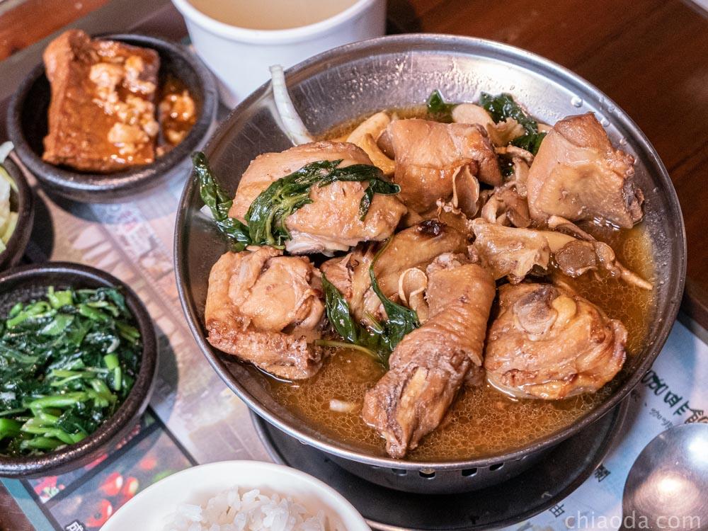 普羅咖啡館 三杯雞肉煲