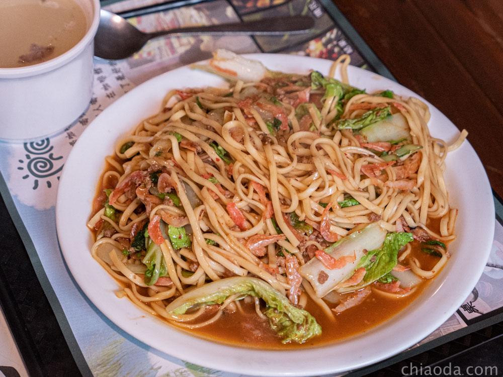 普羅咖啡館 櫻花蝦炒麵