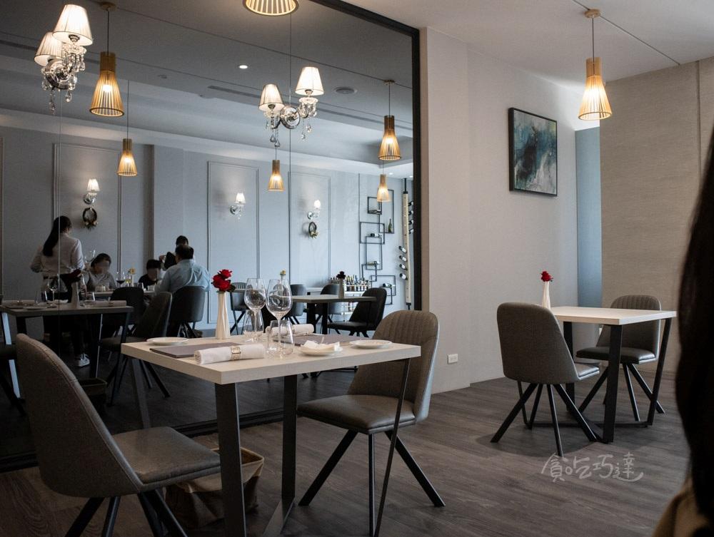 REVIVRE 品法 內用環境 台中求婚餐廳