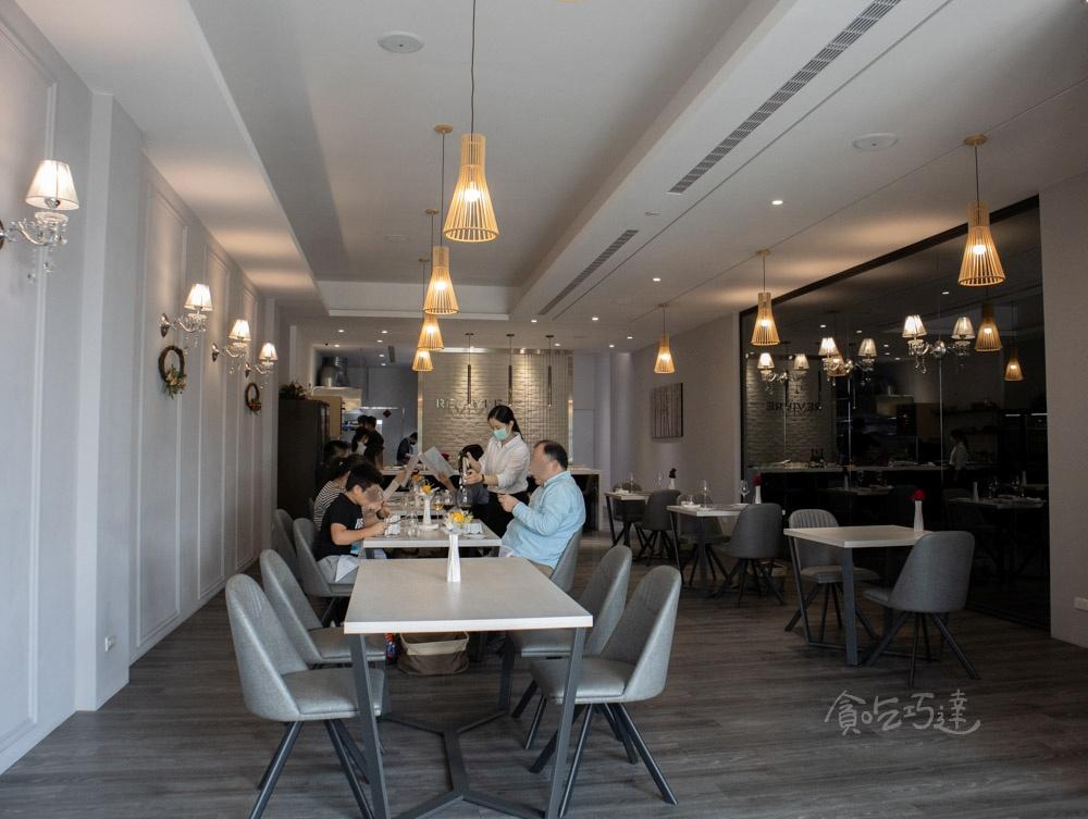 REVIVRE 品法 內用環境 台中情人節餐廳
